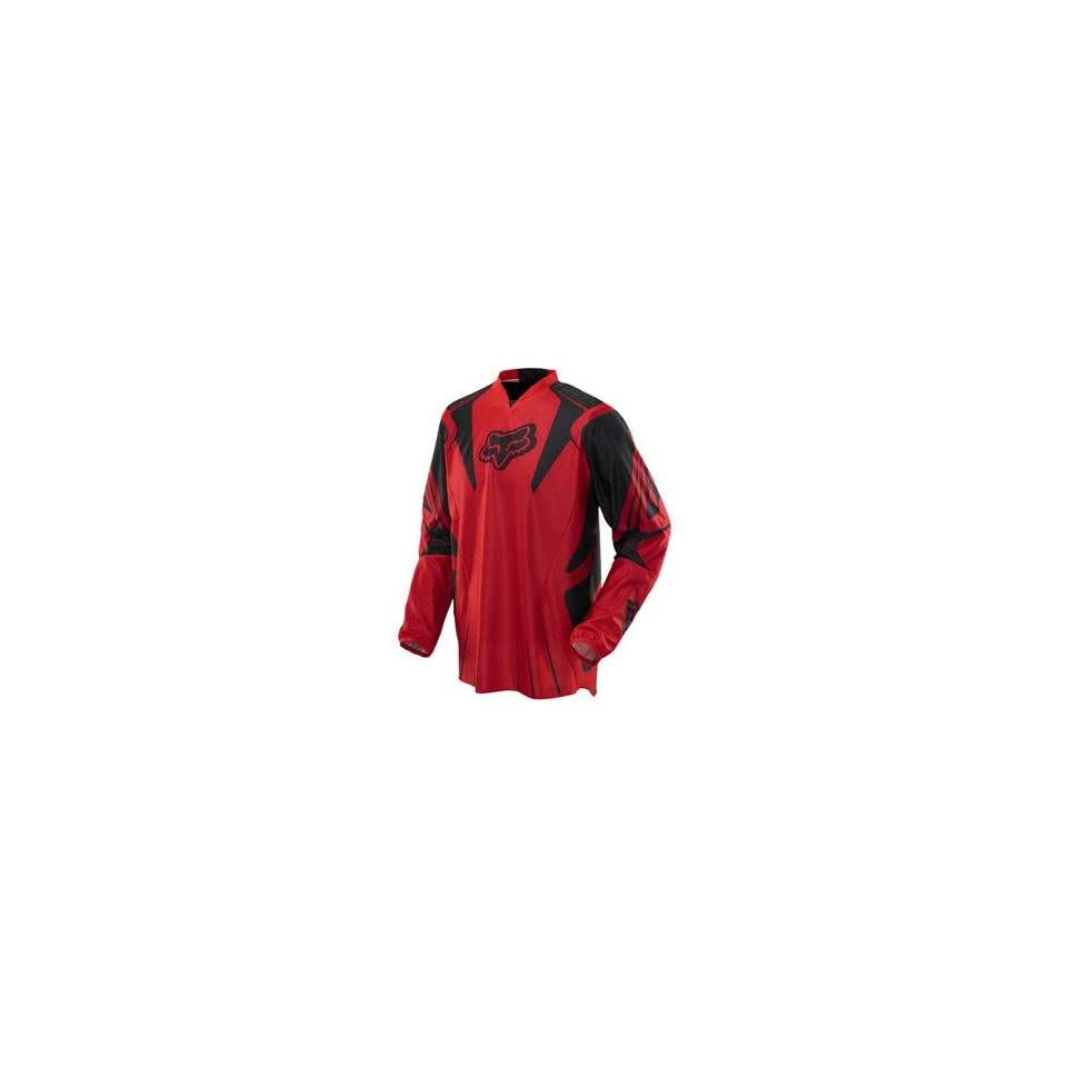 Fox Racing Airline Jersey   Small/Bright Red