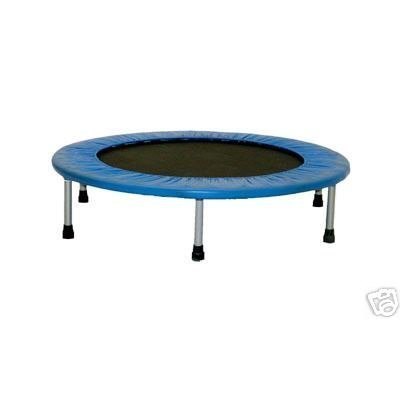 Crescendo Fitness 36in Mini Jump Trampoline - Blue