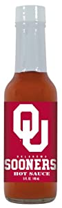 24 Pack Oklahoma Sooners Hot Sauce 5 Oz Cayenne from Hot Sauce Harry's
