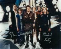 Blakes 7 Cast (x5 Autographs) - Genuine Signed Autograph