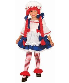 Rag Doll Girl Child Small