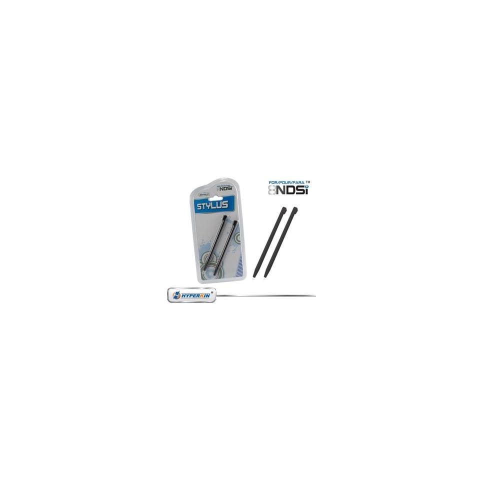 DDR Game Nintendo DSi Touch Stylus Pen Set (Black) [Electronics]