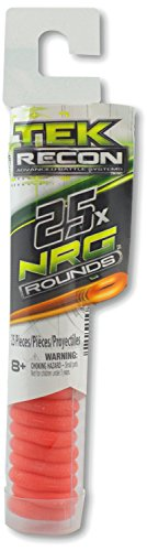 (2 Pack)- Tek Recon 25x NRG Rounds, Ammo Packs, 25 Rounds each