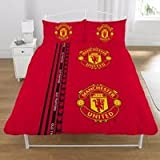 Manchester United DOUBLE Football Duvet Cover Bedding Set (Double Bed)