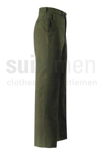 Brook Taverner Moleskin Trousers 34inch Waist 31inch, Dark Olive (B)