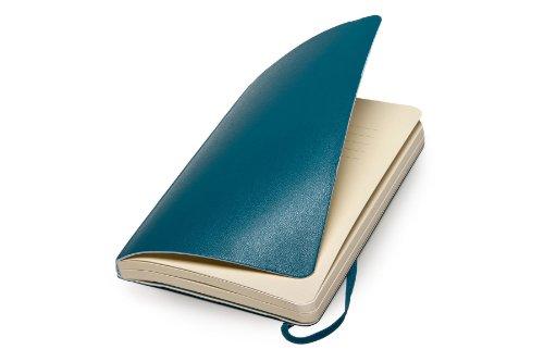 Moleskine QP614B6 Notizbuch Pocket, Softcover, Punkteraster, unterwasser-blau