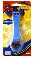 Marvel LCD Kids Watch, Spiderman - Blue