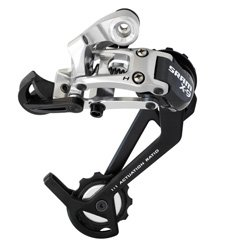 Sram X9 Rear Derailleur Medium Cage 9 Speed Silver New