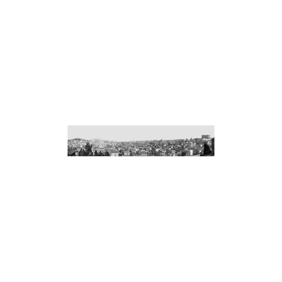 PANORAMA OF SAN FRANCISCO CALIFORNIA SKYLINE #2 1910