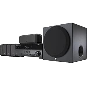 Yamaha YHT-397 5.1-Channel Home Theater System (Discontinued by Manufacturer)
