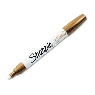 sharpie-oil-based-medium-point-paint-markers-12-gold-markers-34937