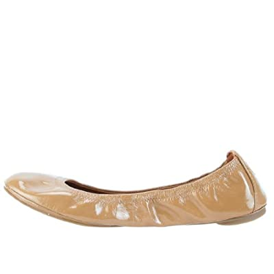 Tory Burch Eddie Patent Leather Flats
