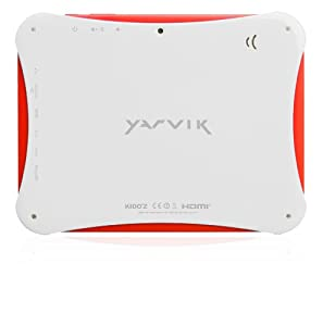 Yarvik Junior 8 inch Tablet (White/Red) - (Cortex A9 1GHz Processor, 1GB DDR3 RAM, 8GB HDD, Touch Screen, Android 4.1.1 JellyBean)