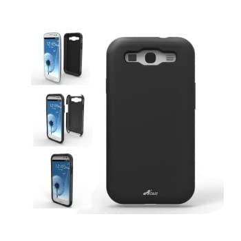 Set A Shopping Price Drop Alert For Acase ACS-01PCSLSGS3BK-AS Superleggera PRO Hybrid Case for Samsung Galaxy S III - 1 Pack - Retail Packaging - Black