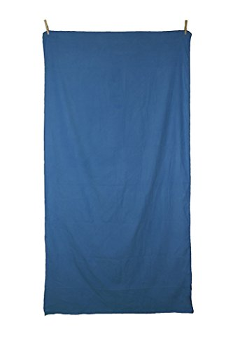 Beachin Towels 71x35-Inch Towel with Mesh Carry Bag - Blue (Vintage Bath Towels compare prices)