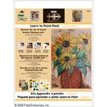 folkart-one-stroke-high-definition-learn-to-paint-packs-sunflowers