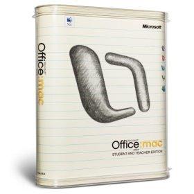 Brand New Microsoft Corporation Microsoft Office 2004 Student & Teacher Edition Mac 3 User License