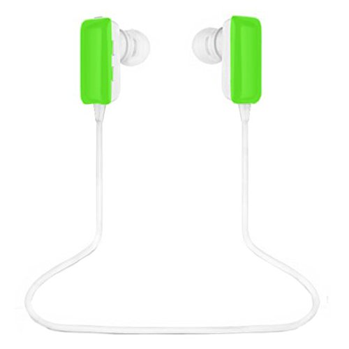 Best_Express Mini Lightweight Wireless Stereo Sports/Running & Gym/Exercise Bluetooth Earbuds Headphones Headsets W/Microphone For Iphone 5S 5C 4S 4, Ipad 2 3 4 New Ipad, Ipod, Android, Samsung Galaxy, Smart Phones Bluetooth Devices (Green)