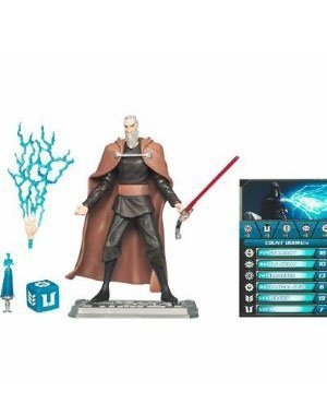 Star Wars 2010 Clone Wars Animated Action Figure CW No. 06 Count Dooku by Hasbro
