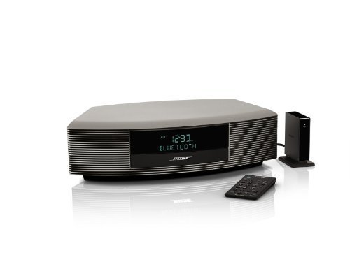Bose Wave Radio III Bluetooth bundle Titanium Silver