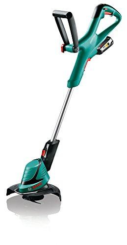 Bosch - Tagliabordi a batteria LI ART 23-18, taglio 23 cm, tecnologia Syneon, Verde, 06008A5C06, 18 voltsV
