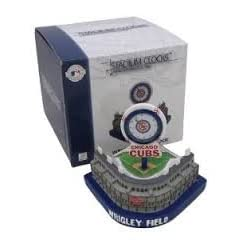 MLB Officially Licensed Chicago Cubs Limited Edition Wrigley Field Stadium Clock by Forever Collectibles