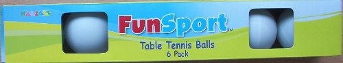 Table Tennis Balls 6 Pack