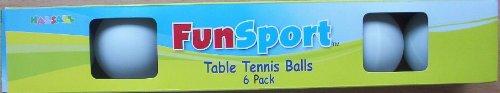 Table Tennis Balls 6 Pack
