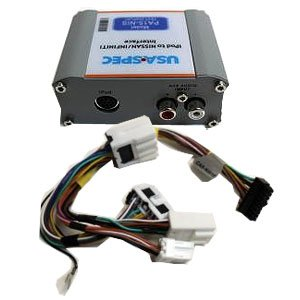 Usa Spec (Pa15-Nis) Ipod Interface With Auxiliary Text Navigation/Live Traffic For Nissan Vehicles