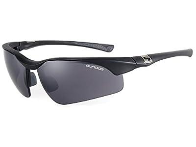 Sundog True Blue Flight Sunglasses, Matte Black with Smoke