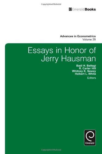 Essays in Honor of Jerry Hausman: Advances in Econometrics