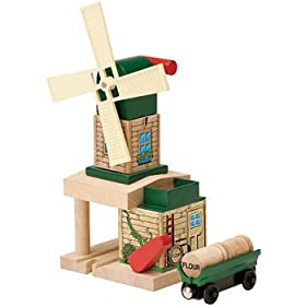 Thomas & Friends Wooden Railway- Toby's Windmill