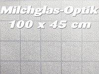 infactory sichtschutz folie milchglas selbstklebend 100 x 45 cm k che haushalt. Black Bedroom Furniture Sets. Home Design Ideas
