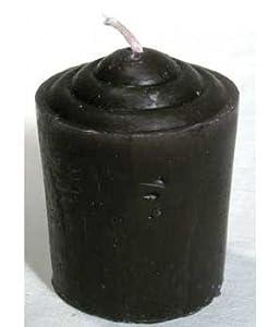 (24) Votive Candle 15 Hr. Burn: Black