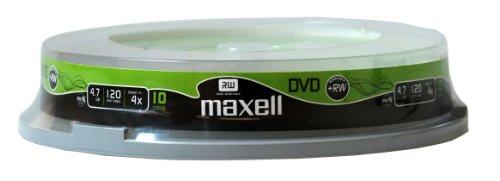 Maxell DVD+RW  4,7 Gb 4x SP10