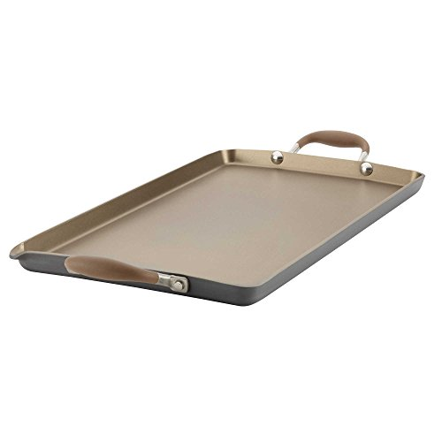 Anolon Advanced Umber 18-inch x 10-Inch Double Burner Griddle (Thermador Stove Accessories compare prices)