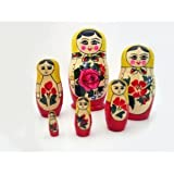 Semenov Russian Nesting Doll 6pc./5""