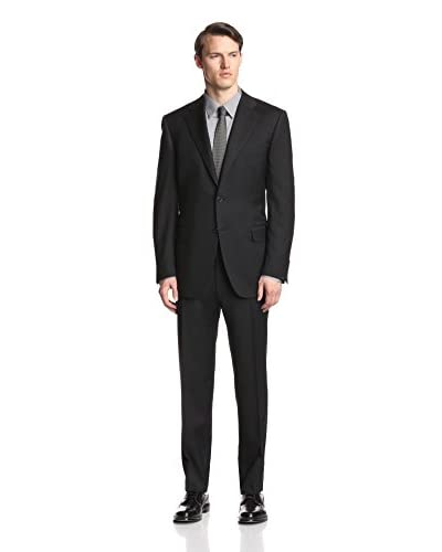Canali Men's Solid 6 Inch Drop Suit