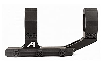 "Aero Ultralight 1"" Scope Mount, Extended - Anodized Black from Aero Precision/Renegade Tactical"