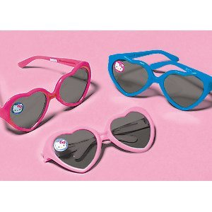 Hello Kitty Heart Glasses 12 Pack