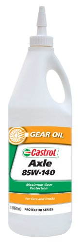 Castrol 12613-12PK Axle 85W-140 Gear Oil - 1 Quart, (Pack of 12) (Castrol Gear Oil compare prices)