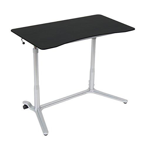 Calico Designs 51230 Sierra Height Adjustable Desk, Silver/Black