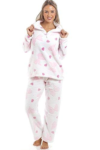 camille-conjunto-de-pijama-largo-de-forro-polar-suave-estampado-de-corazones-rosas-y-lazos-blanco-38
