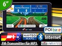 NavGear 6″-Navigationssystem StreetMate RSX-60-3D