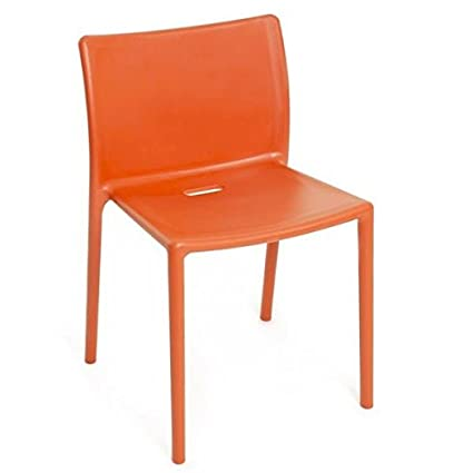 Magis air-chair N ° 4 chaises empilables orange