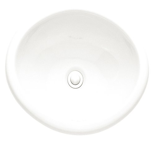 American Standard 0573.000.020 Sebring Countertop Sink without Faucet Deck, White