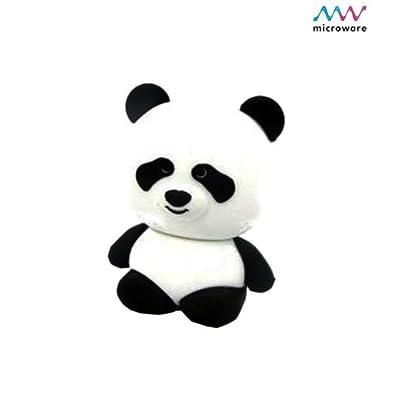 Microware Panda ShMicroware 16GB Pen Drive (Black & White)