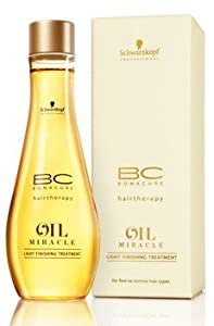 Schwarzkopf Bonacure Oil Potion Light Finishing Treatment For Fine To Normal Hair Types (3.4 oz.)