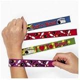 12 Bowling Slap Bracelets