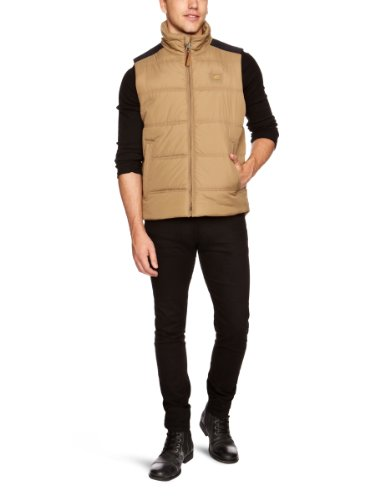 camel active Eliot Men's Gilet Beige C40IN